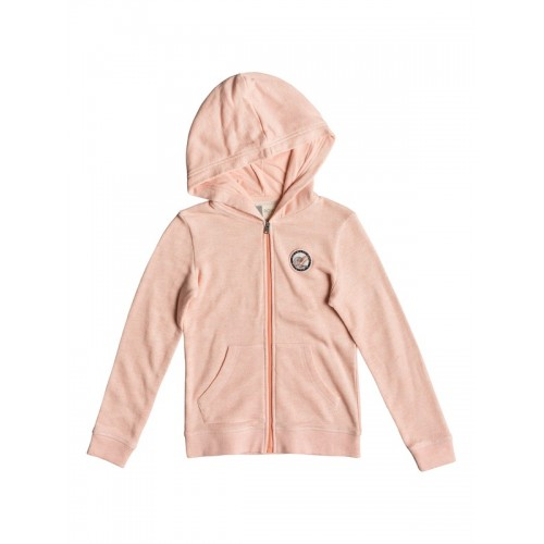 록시 Girls 7-14 Mi Bicicleta A Zip-Up Hoodie