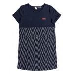 Girls 7-14 Night Jungle Short Sleeve T-Shirt Dress