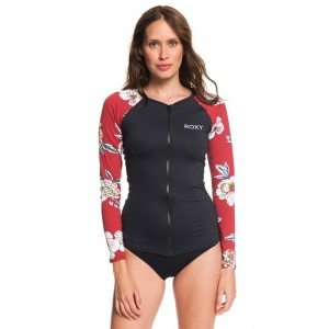 Sunny You Long Sleeve Zip-Up UPF 50 Rashguard