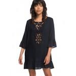 Goldy Soul 3/4 Sleeve Dress