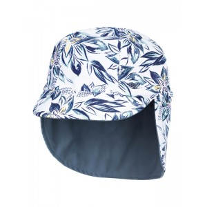 Girls 2-6 Come And Go Reversible Sun Protection Swim Hat