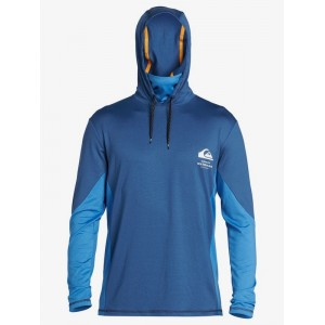 Waterman Angler Hooded Long Sleeve UPF 50 Surf T-Shirt 192504636776