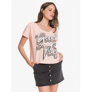 Endless Happiness Cropped Boyfriend Tee
