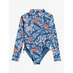 Girls 8-16 Chase Your Dream Long Sleeve One-Piece Swimsuit