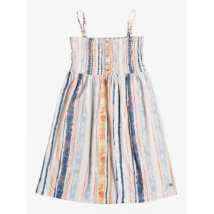 Girl's 7-14 Feathers In Flight Strappy Dress