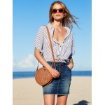 Dream State 2L Round Faux Leather Shoulder Bag