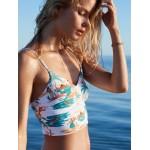 Printed Beach Classics Tankini Bralette Bikini Top