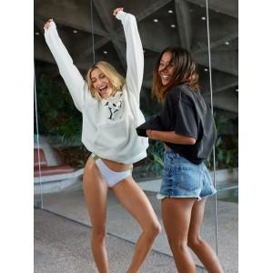 H and K Sisters High Leg Bikini Bottoms