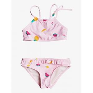 Girls 2-7 Lovely Aloha Crop Top Bikini Set