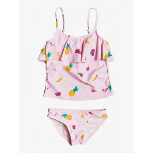Girls 2-7 Lovely Aloha Tankini Bikini Set