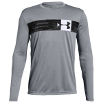 Under Armour Pixel Crossbar Long-Sleeve T-Shirt - Boys Grade School