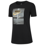 Nike Air Photo Metallic Crew T-Shirt - Womens