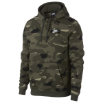 Nike Club Camo Pullover Hoodie - Mens