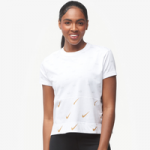 Nike Metallic Clash Print Top - Womens