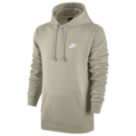 Nike Club Fleece Pullover Hoodie / String/String/White