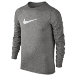 Nike Dri-FIT Swoosh L/S T-Shirt - Boys Grade School
