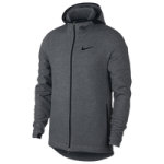 Nike Showtime F/Z Hoodie / Black Heather/Black