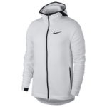 Nike Showtime F/Z Hoodie / White/Black