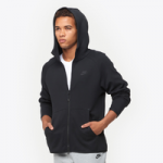 Nike Tech Fleece Full-Zip Hoodie / Black/Black