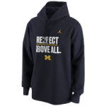 Jordan College Re2pect Above All Hoodie - Mens