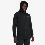 Jordan Jumpman Air Fleece Full-Zip Hoodie / Black/White