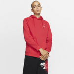 Jordan Jumpman Air Fleece Pullover Hoodie / Gym Red/White
