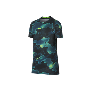 Nike Pro Cool Short Sleeve Top - Boys Grade School