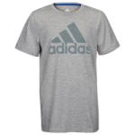 adidas Performance Heather Graphic T-Shirt - Boys Grade School