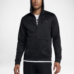 Jordan 23 Alpha Therma Full Zip Hoodie - Mens / Black/Anthracite