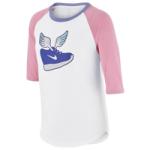 Nike Winged Sneaks Raglan T-Shirt - Girls Grade School