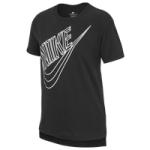 Nike Irridescent Futura Logo T-Shirt - Girls Grade School