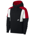 Nike Reissue Half-Zip Fleece Hoodie / Black/University Red/Summit White