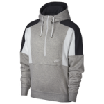 Nike Reissue Half-Zip Fleece Hoodie / Grey Heather/Anthracite/Summit White