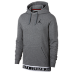 Jordan Jumpman Air HBR Hoodie / Carbon Heather/Black