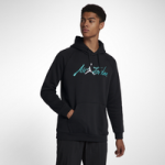 Jordan JSW Greatest Jumpman Pullover Hoodie - Mens / Black/White