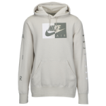 Nike Graphic Hoodie / Light Bone