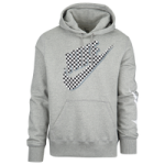 Nike Graphic Hoodie / Dark Grey Heather/Black/White