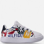 Boys Toddler Tommy Hilfiger Iconic Court Casual Shoes