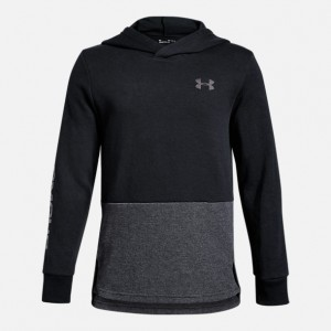 Boys Under Armour Double Knit Pullover Hoodie