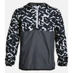 Boys Under Armour Sackpack Half-Zip Packable Jacket