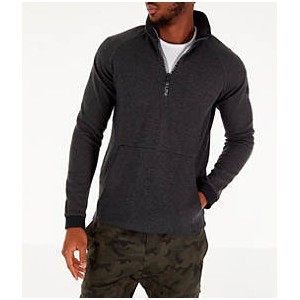 Mens Under Armour Unstoppable Double Knit Half-Zip Training Shirt