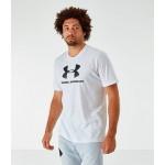 Mens Under Armour Sportstyle Logo T-Shirt
