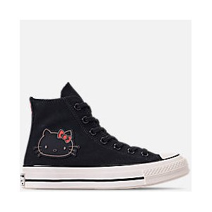 Womens Converse x Hello Kitty Chuck Taylor 70 High Top Casual Shoes