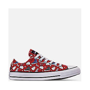 Womens Converse x Hello Kitty Chuck Taylor All Star Low Casual Shoes