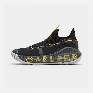 Big Kids Under Armour Curry 6 Basketball Shoes
