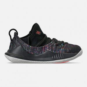 Little Kids Under Armour Curry 5 Basketball Shoes