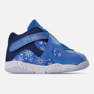 Kids Toddler Air Jordan Retro 8 Basketball Shoes