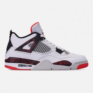 Mens Air Jordan Retro 4 Basketball Shoes