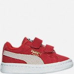 Boys Toddler Puma Suede Hook-and-Loop Closure Casual Shoes