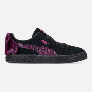 Girls Little Kids Puma x Barbie Suede Classic Casual Shoes